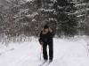 Лыжник на Аджигардаке