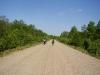 Дорога к деревне Азово