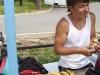 Ренат ест бананы