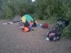 Лагерь у села Табынское