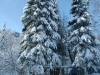 Хребет Нары зимой